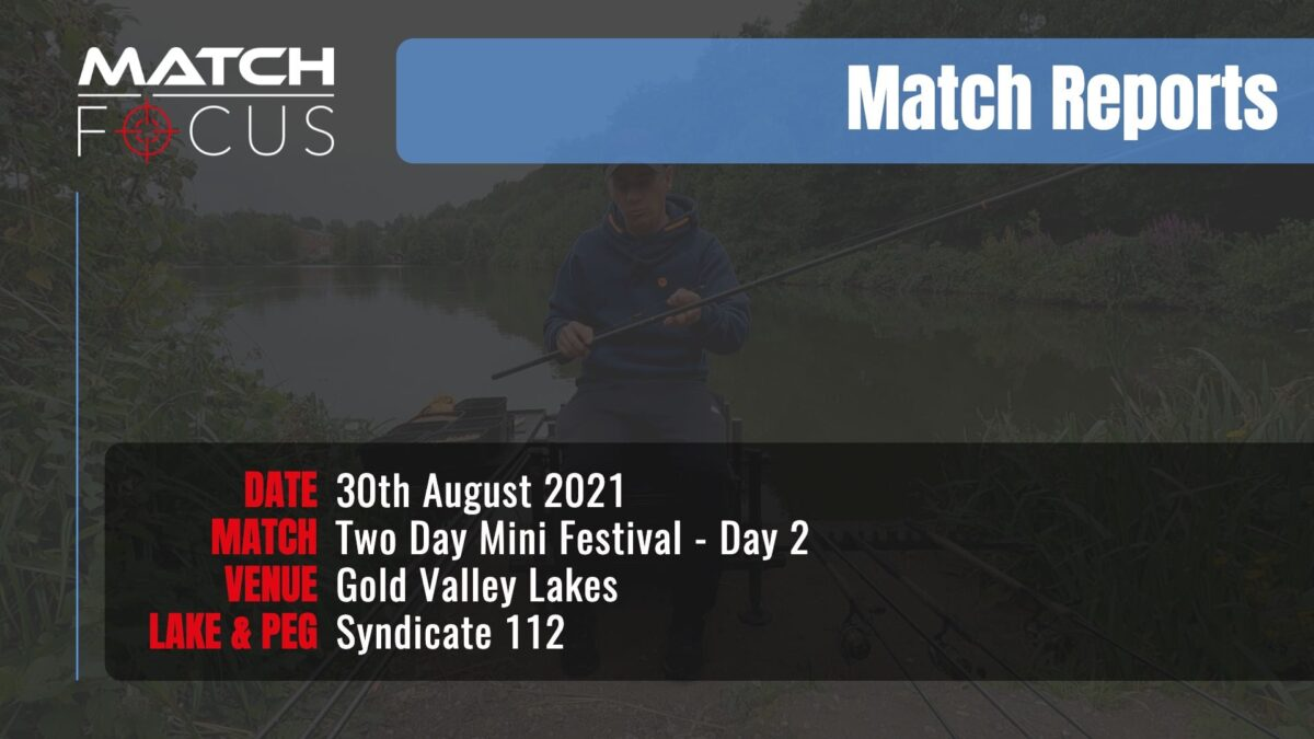 Day 2 Two Day Festival – 30th August 2021 Match Report