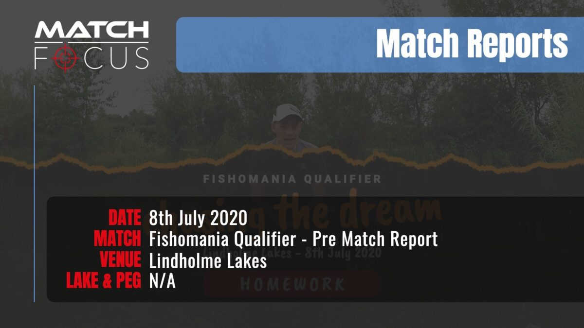 Fishomania Qualifier Pre Match – 8th July 2020 Match Report