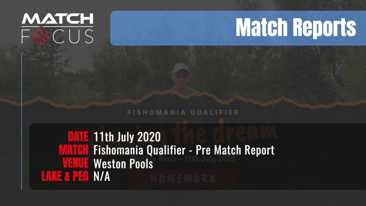 Fishomania Qualifier Pre Match -11th July 2020 Match Report