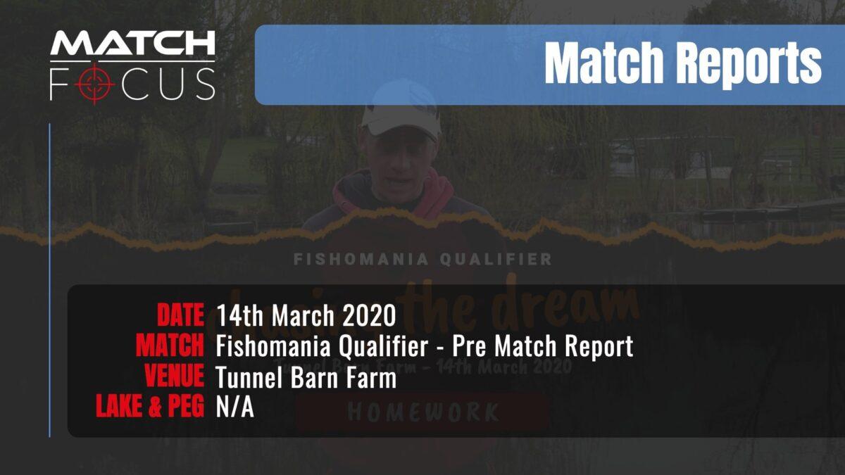 Fishomania Prematch – 14th March 2020 Match Report