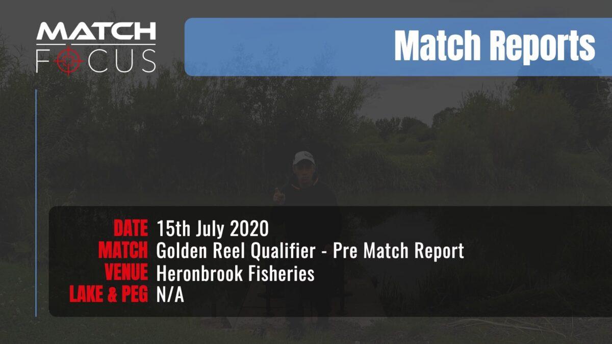 Golden Reel Qualifier Pre Match – 15th July 2020 Match Report