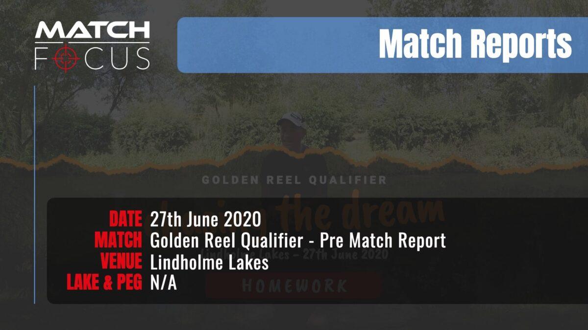 Golden Reel Lindholme Prematch 27th June 2020 Match Report
