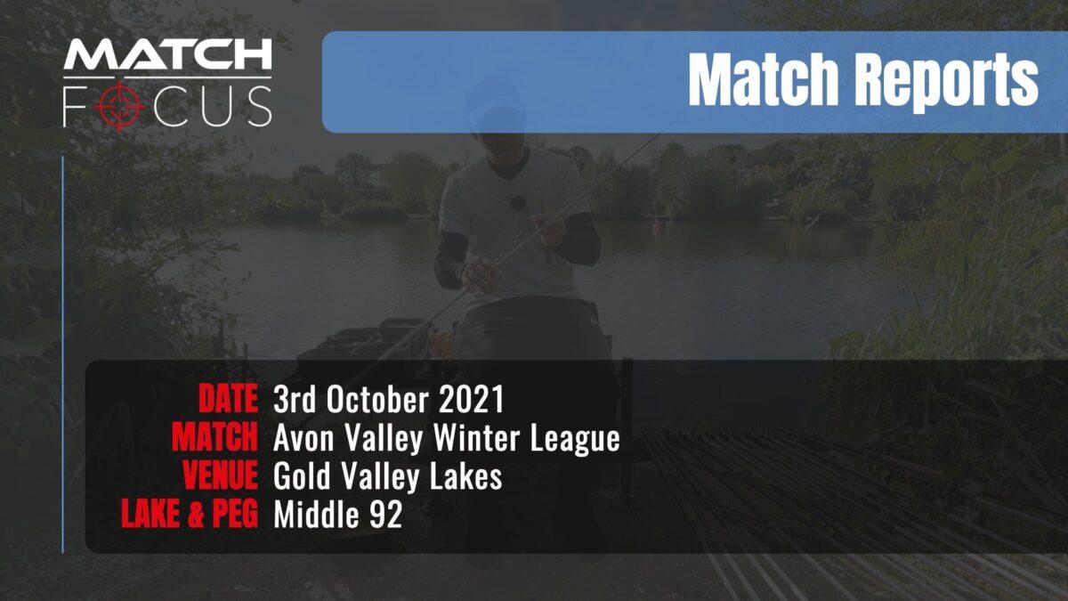 Avon Valley Winter League – 3rd October 2021 Match Report