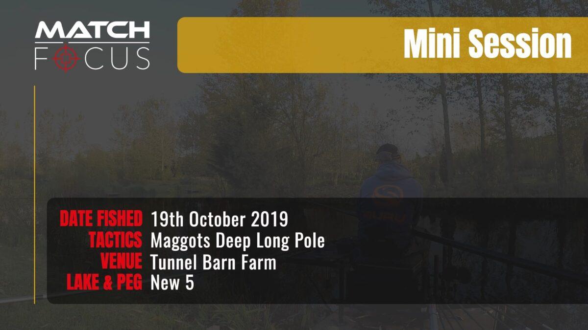 Tunnel New 5 – Maggots Deep Long Pole