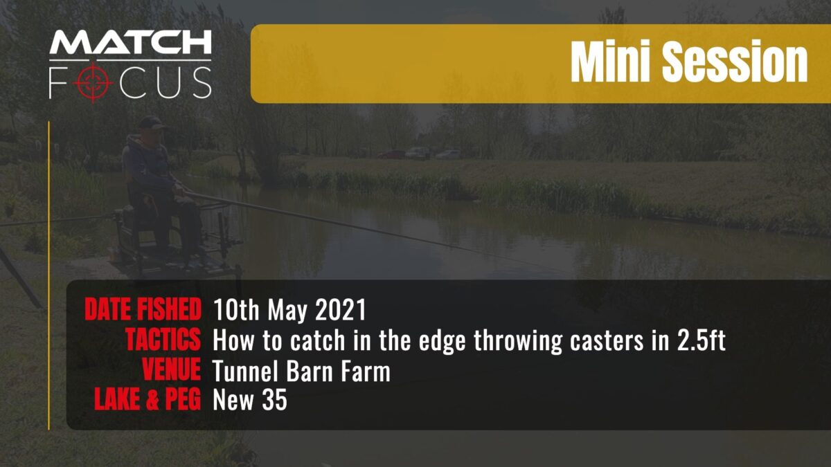 Tunnel New 35 – How to catch throwing casters in the edge