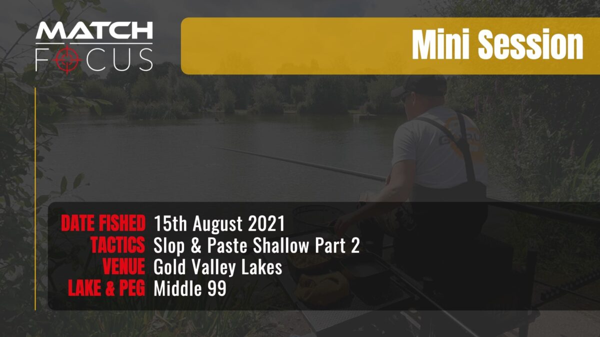 Gold Valley Gold 99 – Slop and Paste Shallow Pt2