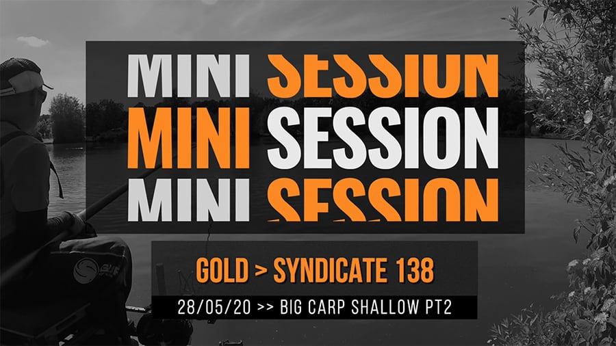 Gold Syndicate 138 – Carp Shallow Pt2 – Feeding